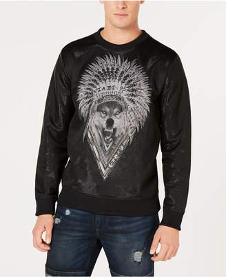 GUESS Men's Wolf Graphic Sweatshirt
