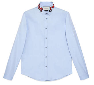 Oxford Duke shirt with Kingsnake $595 thestylecure.com