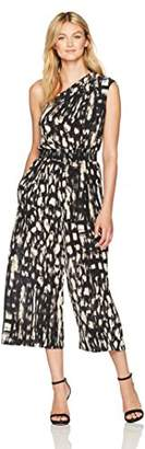 Tracy Reese Women's Strapless Jumpsuit