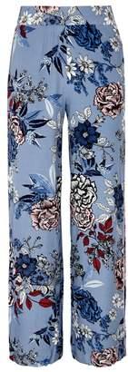 Gestuz Begonia Floral-print Wide-leg Trousers