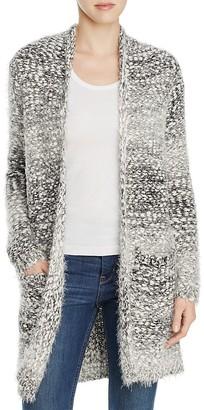 B Collection by Bobeau Harper Eyelash Knit Cardigan $158 thestylecure.com