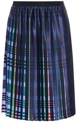 Emporio Armani Fantasia Pleated Skirt