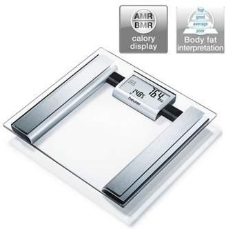 Beurer Bg39 Glass Diagnostic Bathroom Scalelarge Digital Displaybmr+Amrbf