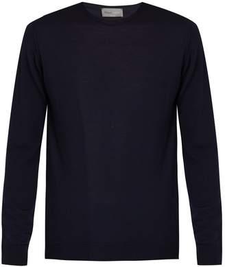 Kilgour Crew-neck merino-wool sweater