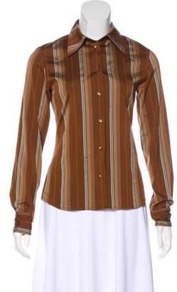 Joseph Long Sleeve Button-Up Top