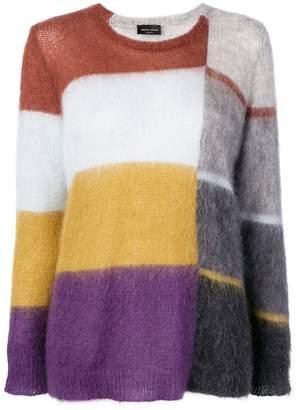 Roberto Collina striped pattern loose sweater