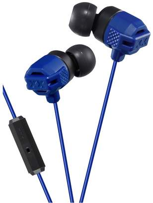 JVC Blue In-Ear Xtreme Bass Mic & Remote Headphones