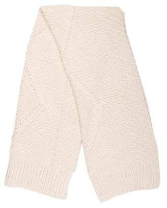 Maison Margiela Rib Knit Scarf