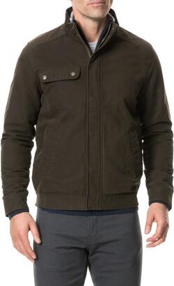 Rodd & Gunn Eskdale Regular Fit Waterproof Bomber Jacket
