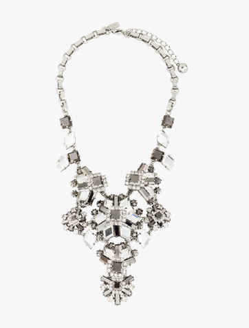 Kate Spade Kate Spade New York Space Age Floral Statement Necklace