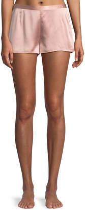 La Perla Silk Side-Button Lounge Shorts