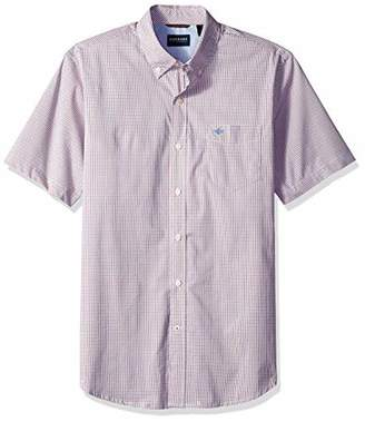 Dockers Comfort Stretch Short Sleeve Button Front Shirt
