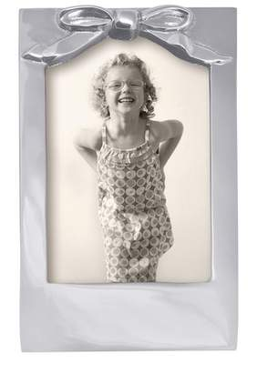 Mariposa Baby Bow Picture Frame
