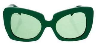 Versace Butterfly Medusa Sunglasses