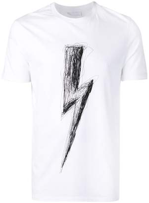 Neil Barrett Bolt print T-shirt