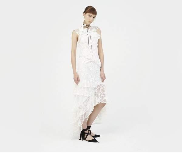 Sachin Babi Sachin Babi | Prima Gown | L | White