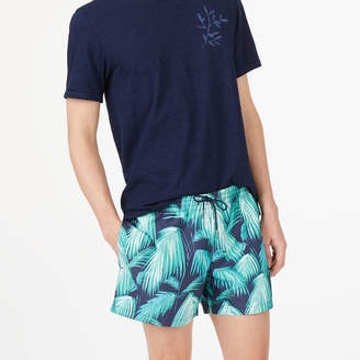 Club Monaco Arlen Palm Fronds Swim Trunk