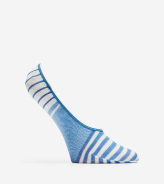 Cole Haan Striped No-Show Socks - 2 Pack