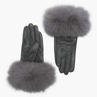 41c9a4bb9 Womens Fur Lined Mittens - ShopStyle UK