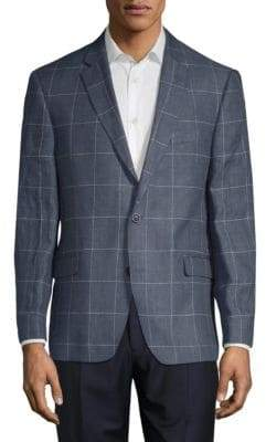 Tommy Hilfiger Linen Window Check Sports Jacket