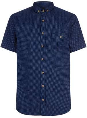 BOSS ORANGE Pin Dot Printed Shirt