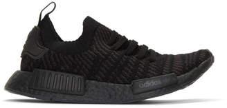 adidas Black NMD-R1 STLT Sneakers