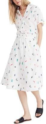Madewell Embroidered Circle Skirt