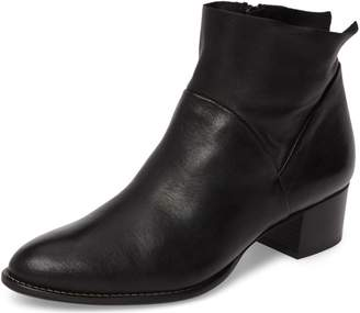 Paul Green Black Nappa Bootie