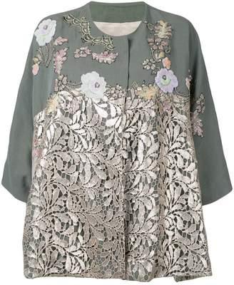 Antonio Marras lace panel jacket