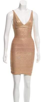 Herve Leger Sleeveless Bandage Dress