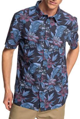 Quiksilver Hot Flower - Short Sleeve Shirt
