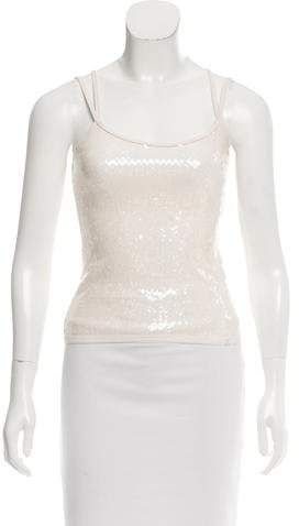 Chanel Sequined Sleeveless Top w/ Tags