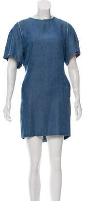 Acne Studios Chambray Mini Dress