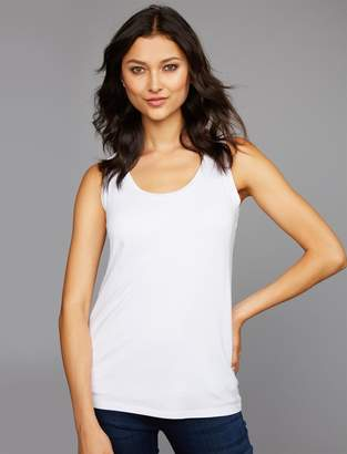 9f0a6df9cfc A Pea in the Pod Belly Bandit Pull Over Mock Layer Maternity and Nursing  Tank Top