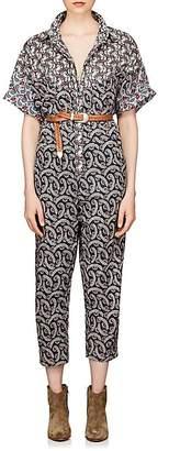 Etoile Isabel Marant Women's Lindsie Cotton Voile Jumpsuit