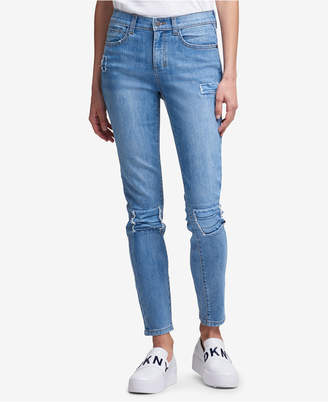 DKNY Studded Skinny Jeans, Created for Macy's