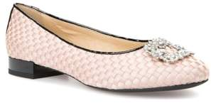 Geox Wistrey Woven Embellished Slip-On