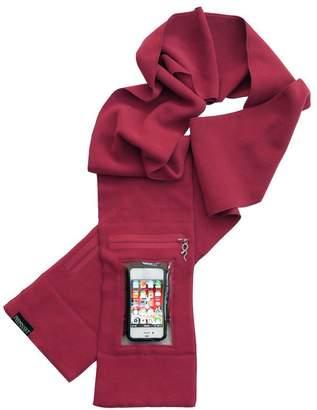 Peepsnake Smartphone Scarf with Camera Window & Zipped Pocket