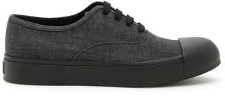Prada Denim Sneakers