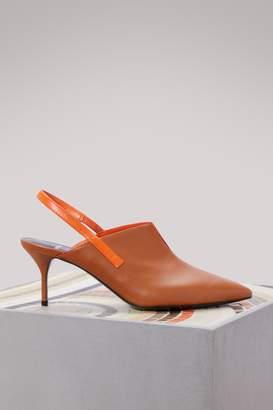 Pierre Hardy Secret leather slingback sandals