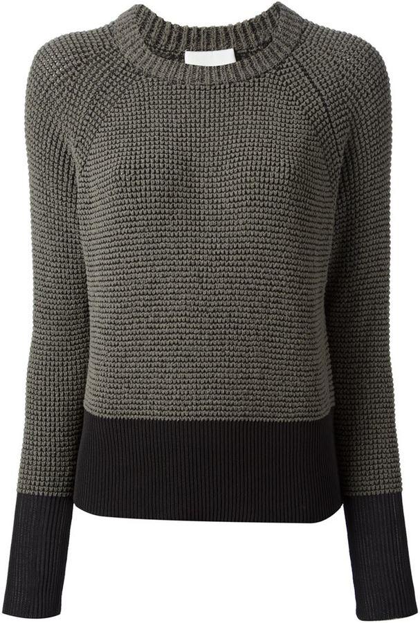 3.1 Phillip Lim bobble knit jumper