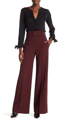 Theory Belted Wide Leg Pants
