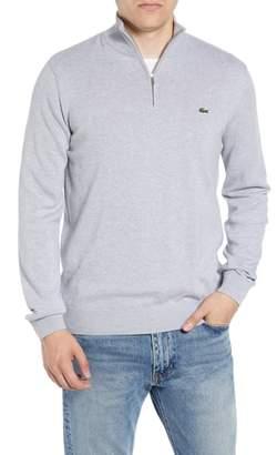 Lacoste Quarter Zip Pullover