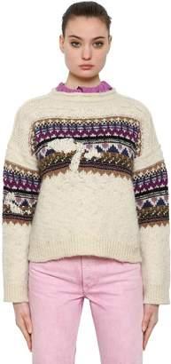 Etoile Isabel Marant Wool Jacquard Knit Sweater