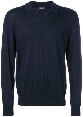 Ermenegildo Zegna polo style sweater