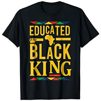 Dashiki Educated KING Shirt - African DNA Pride Shirt