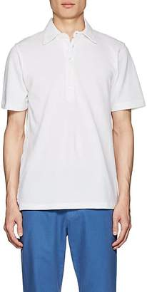 Piattelli MEN'S COTTON PIQUÉ POLO SHIRT