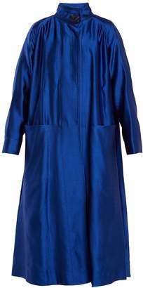 Roksanda Karel high-neck wool-blend coat