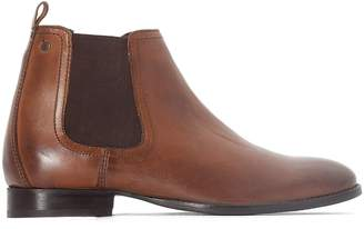Base London Holton Leather Chelsea Boots
