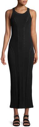 Rag & Bone Brandy Sleeveless Fitted Knit Maxi Dress